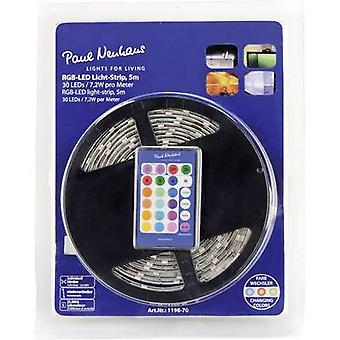 LED strip set + plug 230 V 500 cm RGB Paul Neuhaus 1198-70