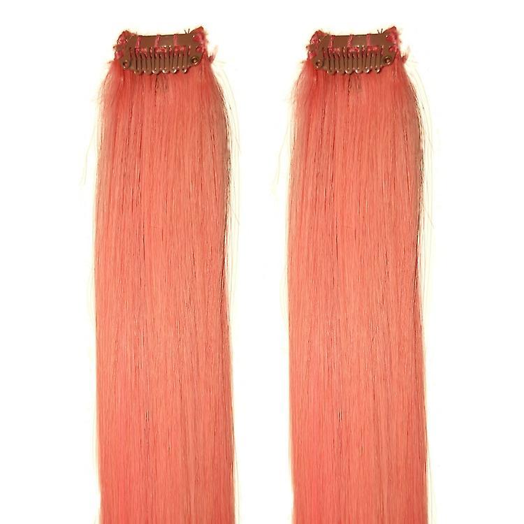 Pale Pink - Clip-in Hair Streaks