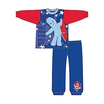 In The Night Garden Childrens/Toddlers Boys Iggle Piggle Snuggle Fit Long Pyjamas