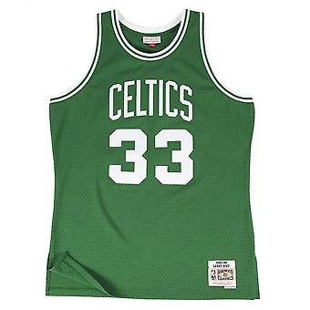 Mitchell & Ness Nba Boston Celtics Larry Bird 1985-86 Swingman Jersey