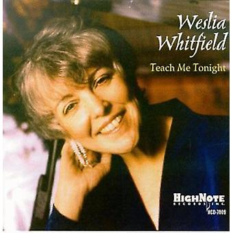 Weslia Whitfield - Teach Me Tonight [CD] USA import
