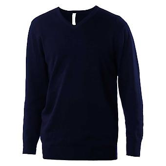 Kariban Mens V-Neck Jumper