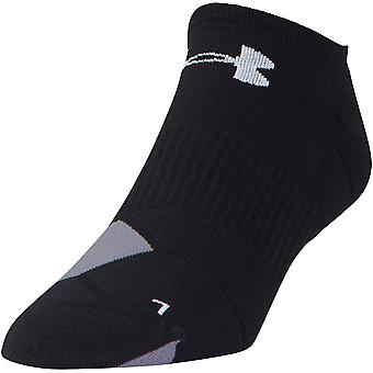 Under Armour Mens Run Launch No Show Stretch Wicking Running Socks