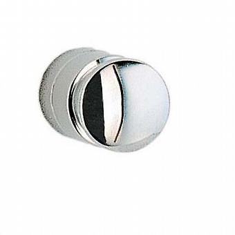 Cabin Towel Hook Pair - Polished Chrome (CK3455)