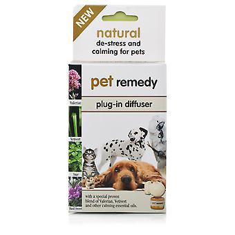 Haustier Heilmittel Plug-in Diffusor Anti-Stress & beruhigend für Katzen Hunde Vögel Pferde 40 ml