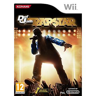 Defjam Rapstar - Game Only (Wii)