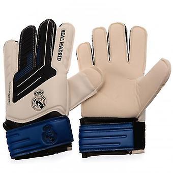 Real Madrid Goalkeeper Gloves Jnr