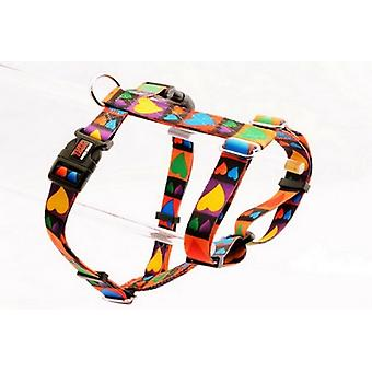 Tuff Lock Harness Ex Large Hearts