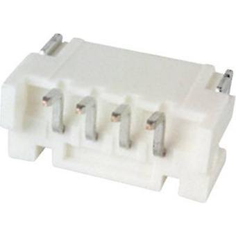 JST intégré broche bande (standard) PH Total nombre d'espacement des broches 4 contacts: 2 mm S4B-PH-SM4-TB (LF)(SN) 1 PC (s)
