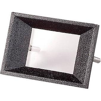 Face frame Black Compatible with: 2-digit LCD Acrylonitrile butadiene styrene Strapubox AR 2