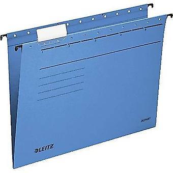 Leitz Suspension file Alpha A4 Blue 5 pcs/pack. 19853035 1 pack