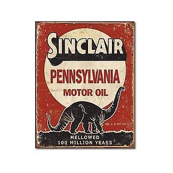 Sinclair Oil sinal do Metal milhões anos