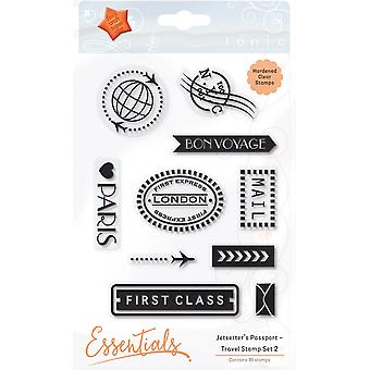 Tonic Studios Clear Stamps-Travel Set 2