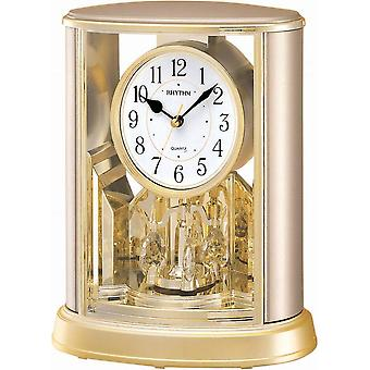 Table - Rotary pendulum clock RHYTHM - 7724-9