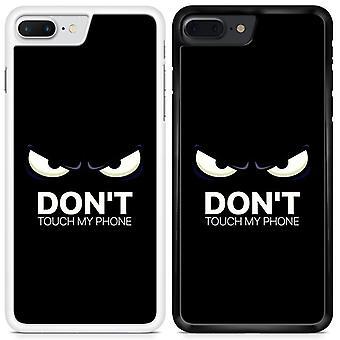 Do Not Touch Custom Designed Printed Phone Case For LG Q6 DTMP12 / White