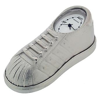 Gift Time Products Trainer Shoe Mini Clock - Silver