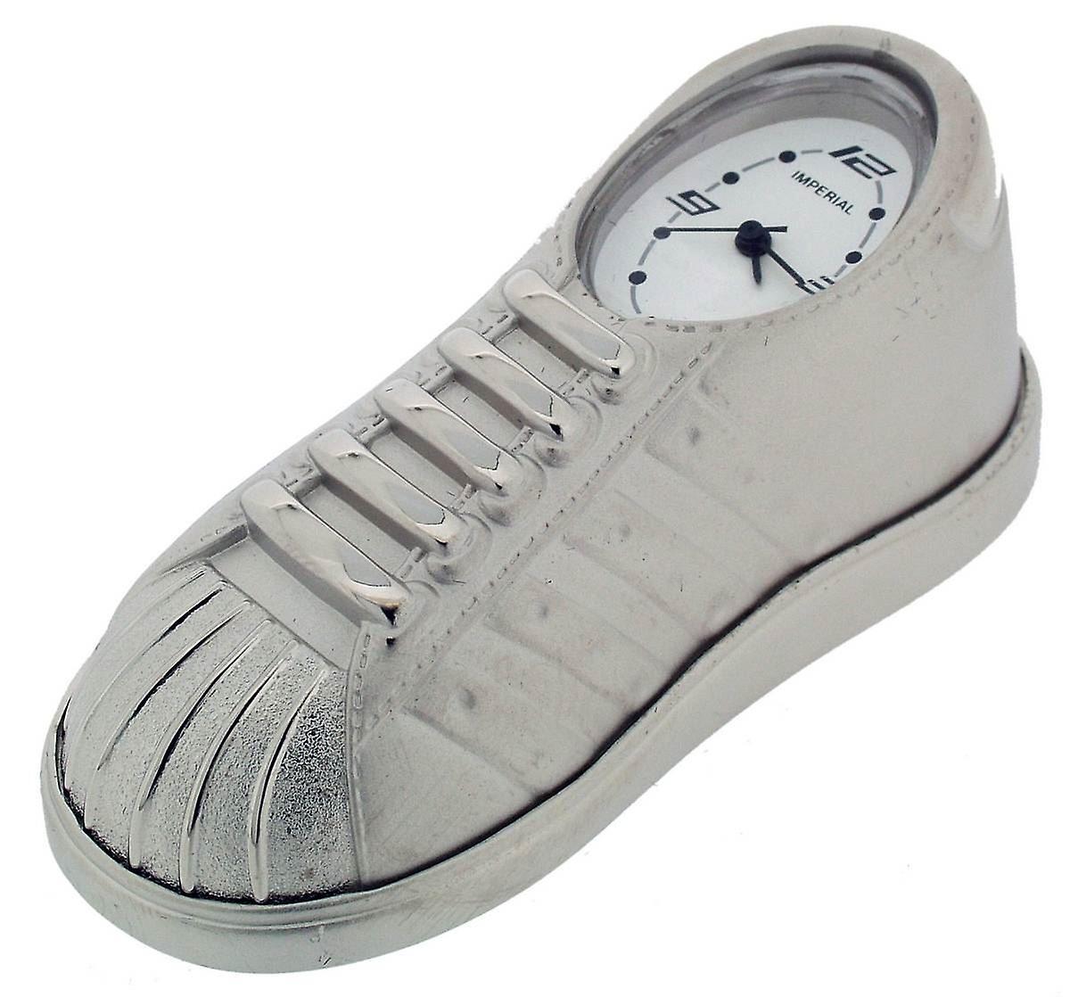 Trainer Time Shoe ClockSilver Gift Products Mini FJTlKu1c3