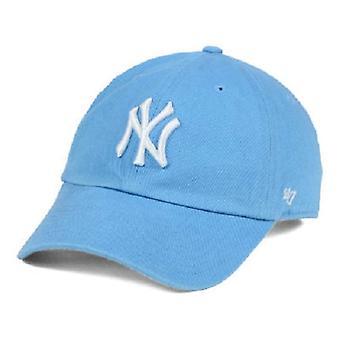 New York Yankees MLB 47 marque chapeau réglable bleu poudre féminin
