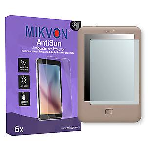 Tolino Page Screen Protector - Mikvon AntiSun (Retail Package with accessories)