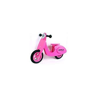 Einfach Holz Balance 22029 Roller für Kinder Pink