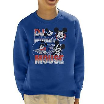 Disney DJ Mickey Mouse Kid's Sweatshirt