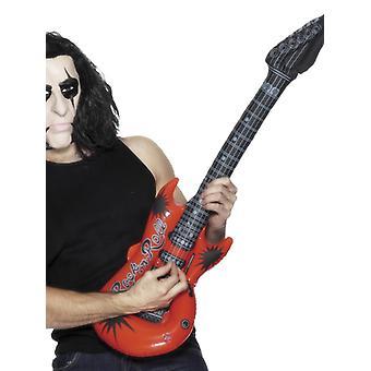 Aufblasbare Gitarre Karneval Accessoire Luftgitarre Inflatable Guitar
