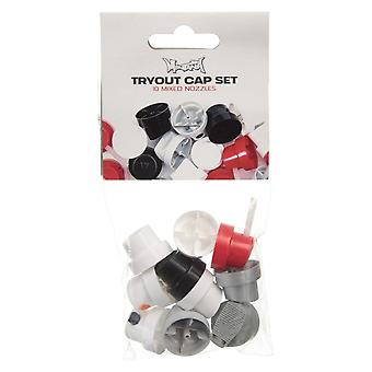 Montana Gold Spray Paint Caps - Tryout Cap 10 Pack