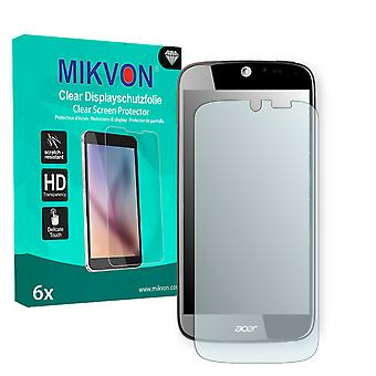 Acer Liquid Jade S55 Screen Protector - Mikvon Clear (Retail Package with accessories) (reduced foil)
