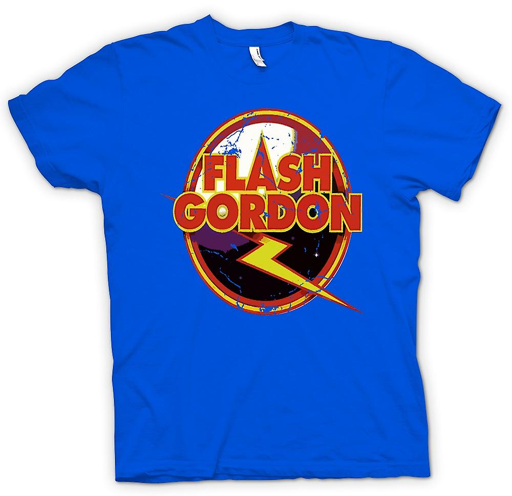 Mens T-shirt - Flash Gordon Logo - Sci Fi