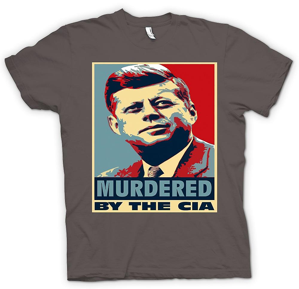 Womens T-shirt - JFK Murdered By CIA