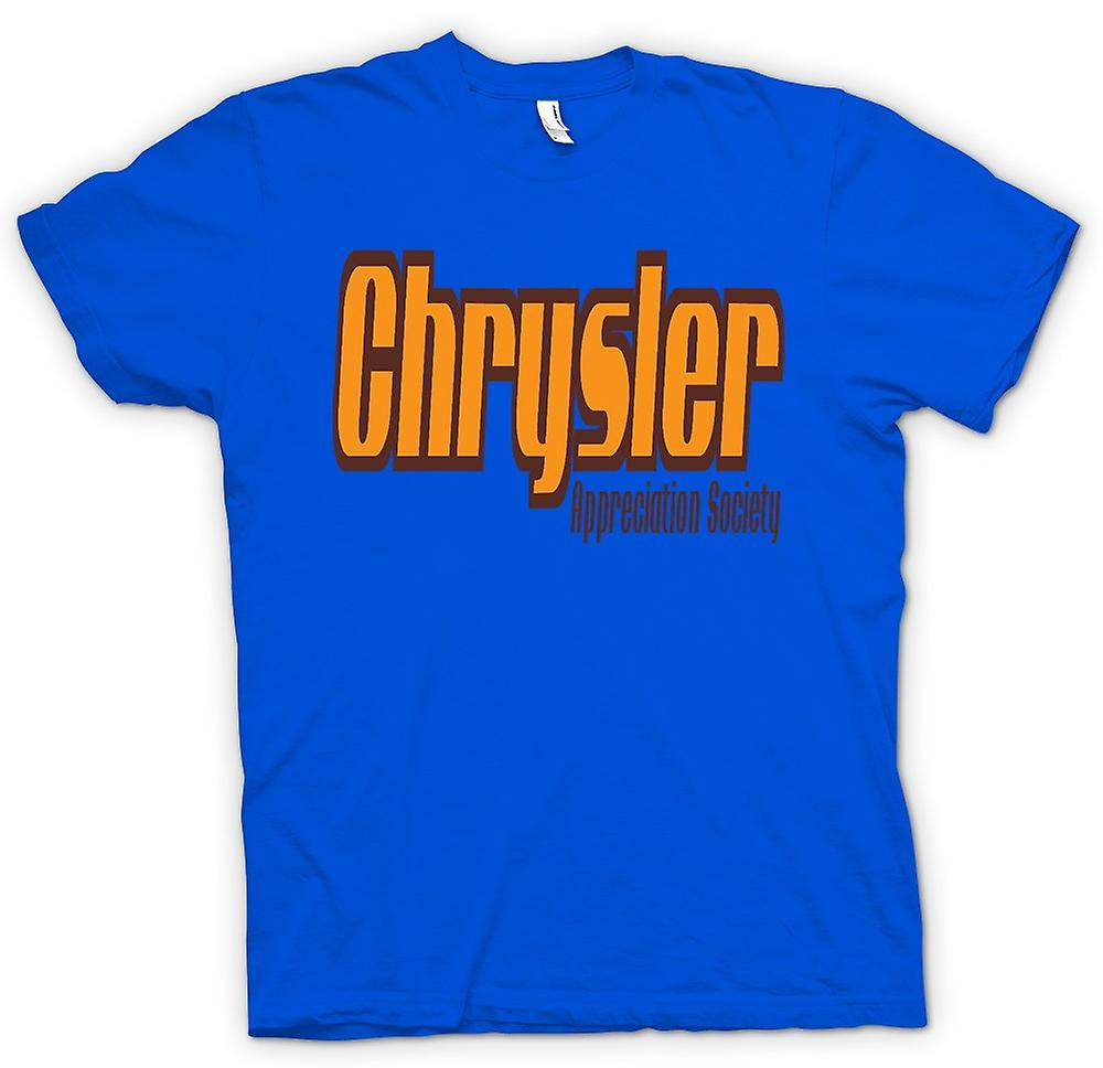Heren T-shirt-Chrysler Appreciation Society