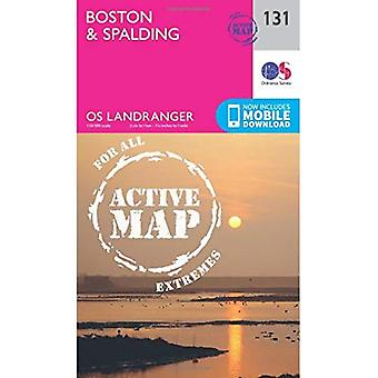 Boston & Spalding (OS Landranger Map)