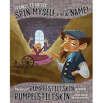 Frankly, I'd Rather Spin Myself a New Name!: The Story of Rumpelstiltskin as Told by Rumpelstiltskin (Other Side...