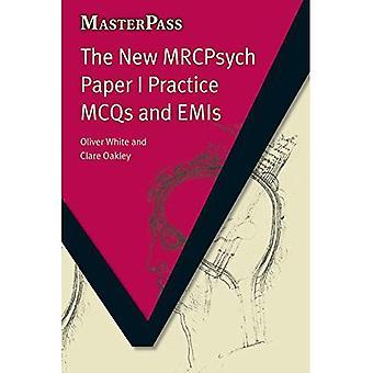 Uusi MRCPsych Paper käytännön MCQs ja päästö (Masterpass) (Masterpass)