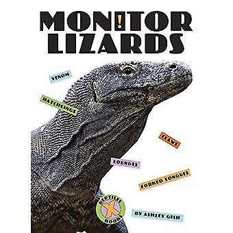 Monitor Lizards (X-Books: Reptiles)