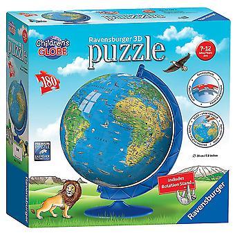 Ravensburger Kinder Welt Globus 180 Stück 3D Puzzle