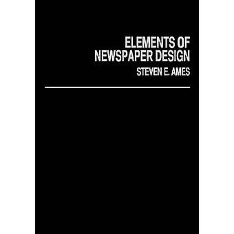 Zeitung-Designelemente von Ames & Steven E.