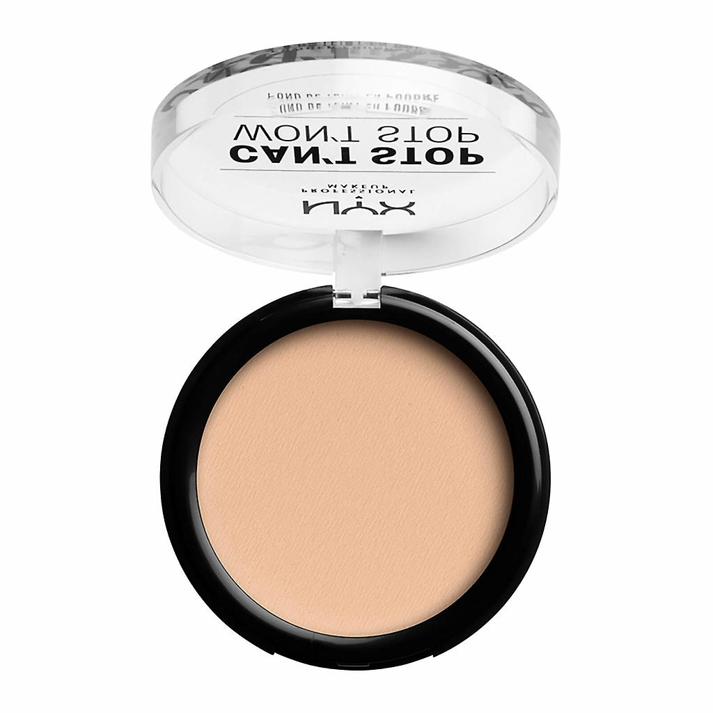 Stop vanille Peut Maquillage Pas Nyx ProfNe Arrêter Poudre Fondation v8Nn0wmO