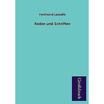 Reden Und Schriften by Lassalle & Ferdinand