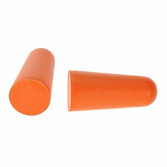 sUw - plugue de orelha de espuma do plutônio (200 pares) laranja 200pcs