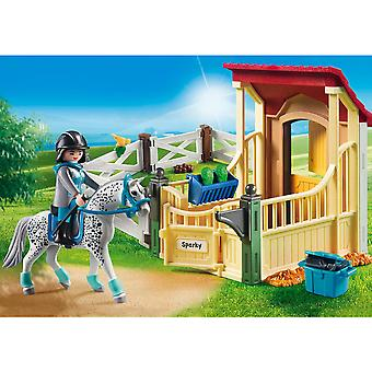 Playmobil Country Horse Stable with Appaloosa
