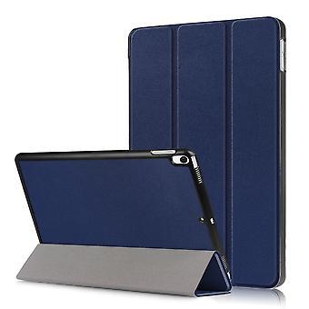 iPad Air 10,5 & iPad Pro 10,5 slim fit tri-voudige geval-donkerblauw