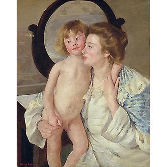 Mother and Son,Mary Cassatt,50x40cm
