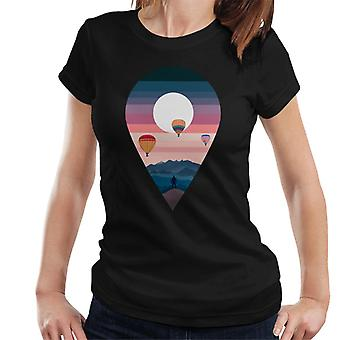 Landscape Balloon Women's T-Shirt