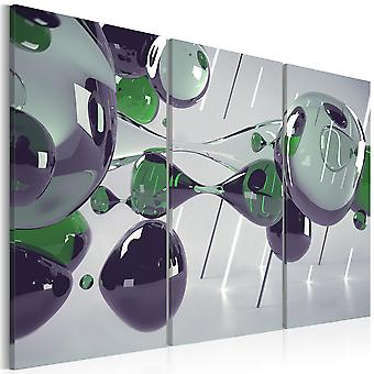 Artgeist Canvas Print glas mystificatie drieluik