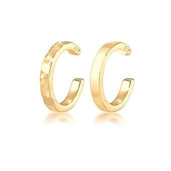 Elli 304210119 Women's Clip Earrings - Gold