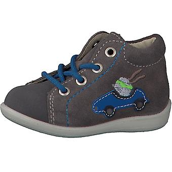 Ricosta Pepino Boys Andy Lace Boots Meteor Grey Car