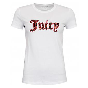 Juicy Couture Leopard Print Logo Tshirt