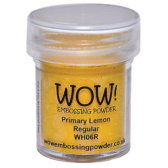 Wow! Embossing Powder 15Ml Lemon Wow Wh06r