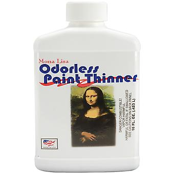 Mona Lisa Odorless Paint Thinner 16 Ounces 90016
